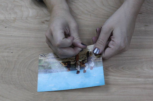 Poking a hole in the postcard