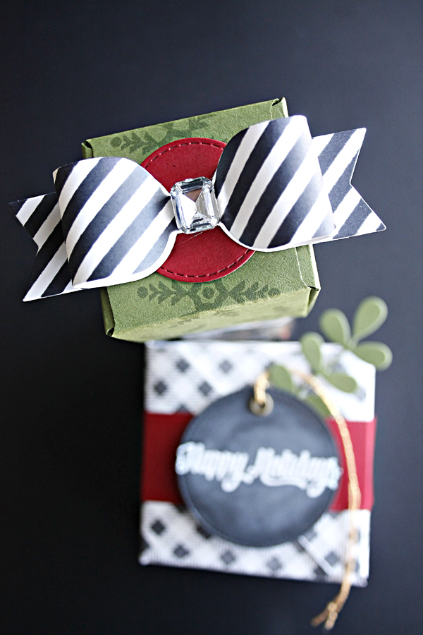 DIY Christmas Gift Boxes