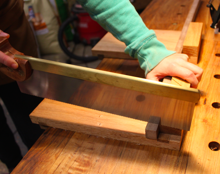 Using a bench hook