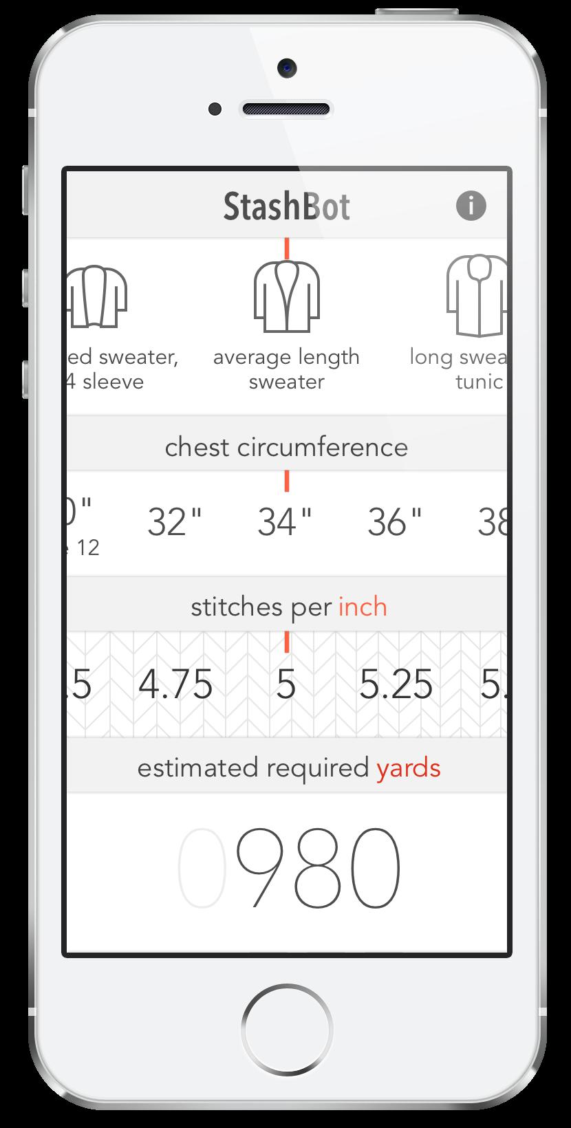 StashBot app