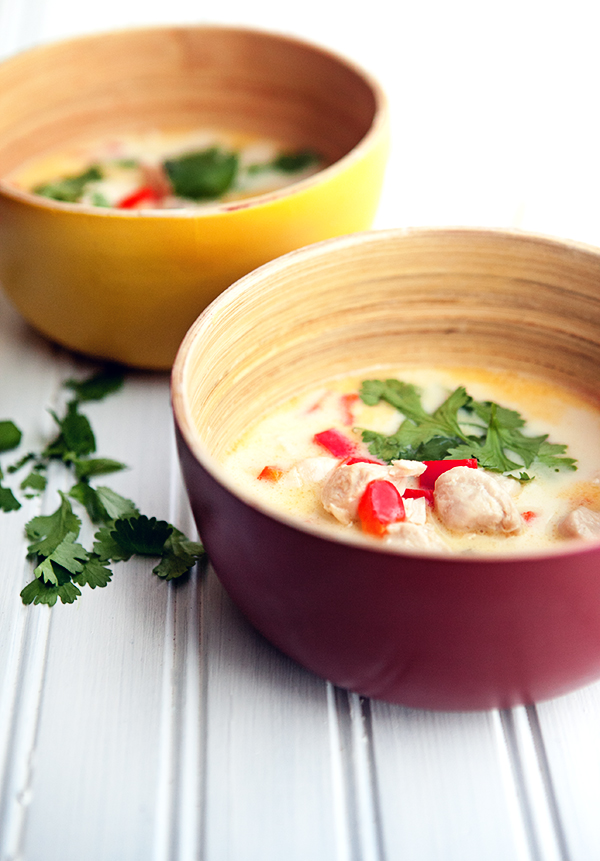 Thai Chicken Coconut Soup