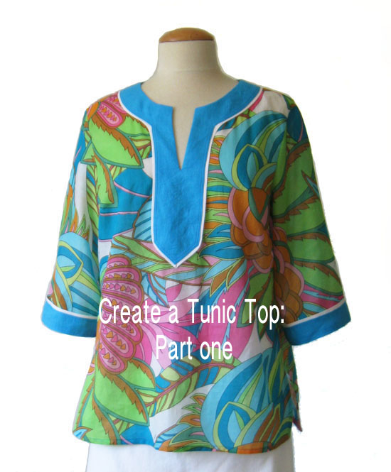 Tunic top part one