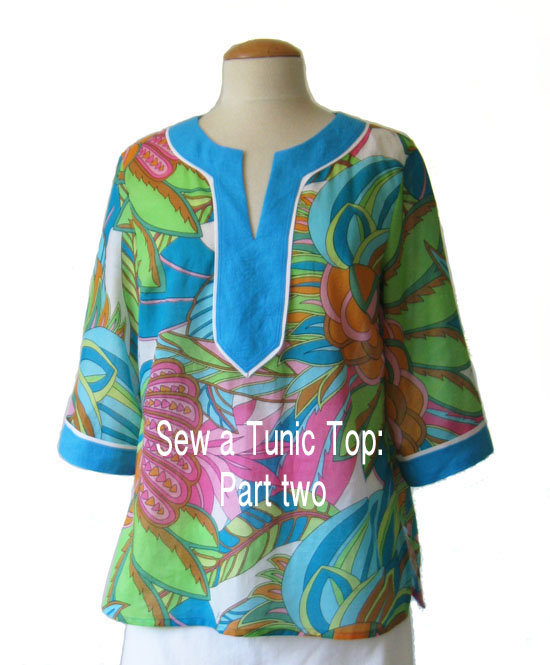 Tunic top part two