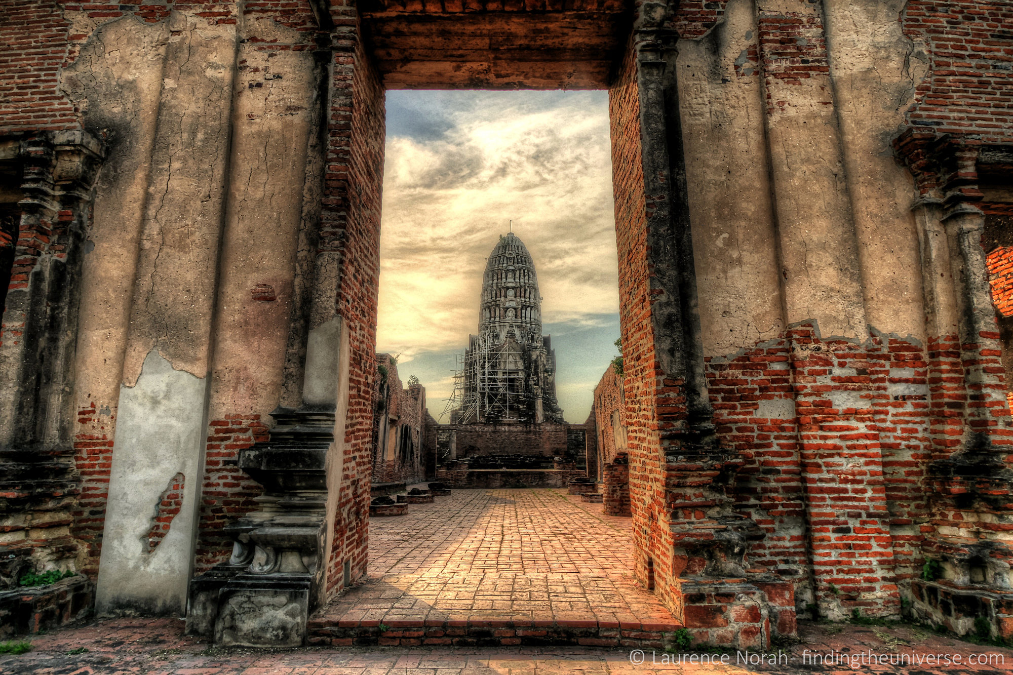 Framing example photography thailand temple
