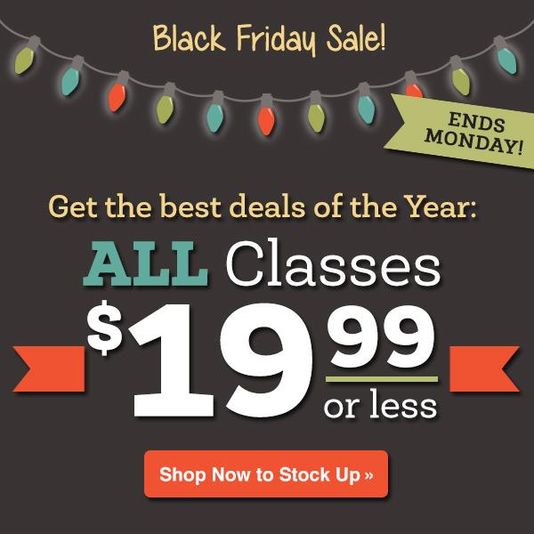 The Bluprint Black Friday Sale!