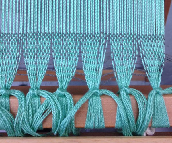 Rewoven plain weave