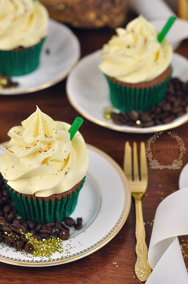 Recipe for caramel frappuccino cupcakes