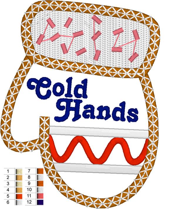 Digital file for Cold Hands pattern
