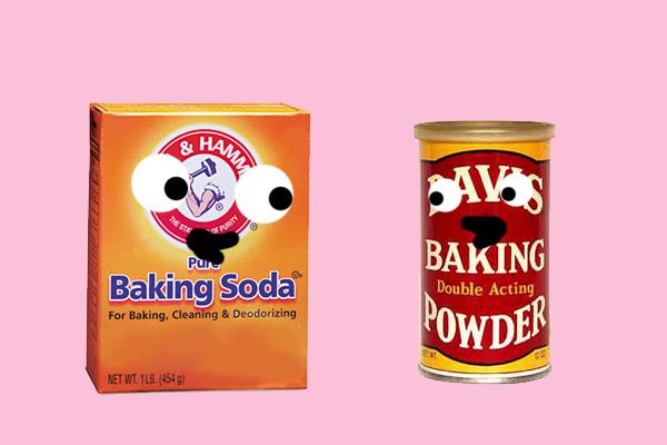 Baking soda and powder