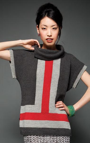 Vogue Colorblock Knit Top