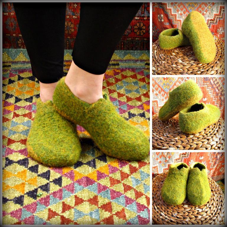 The Hobbity Slipper crochet pattern
