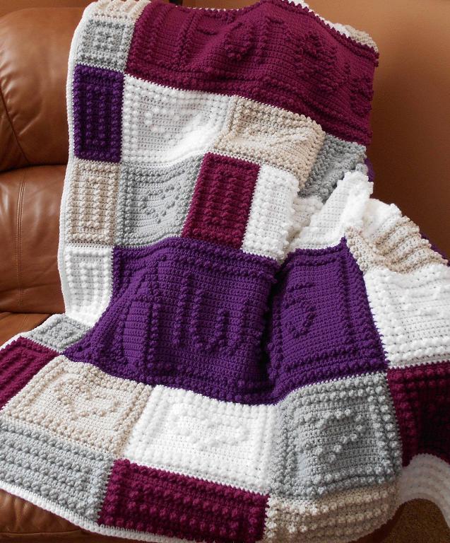 Beautiful Crochet Afghan Crochet Pattern