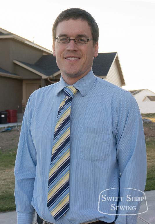 Men necktie pattern