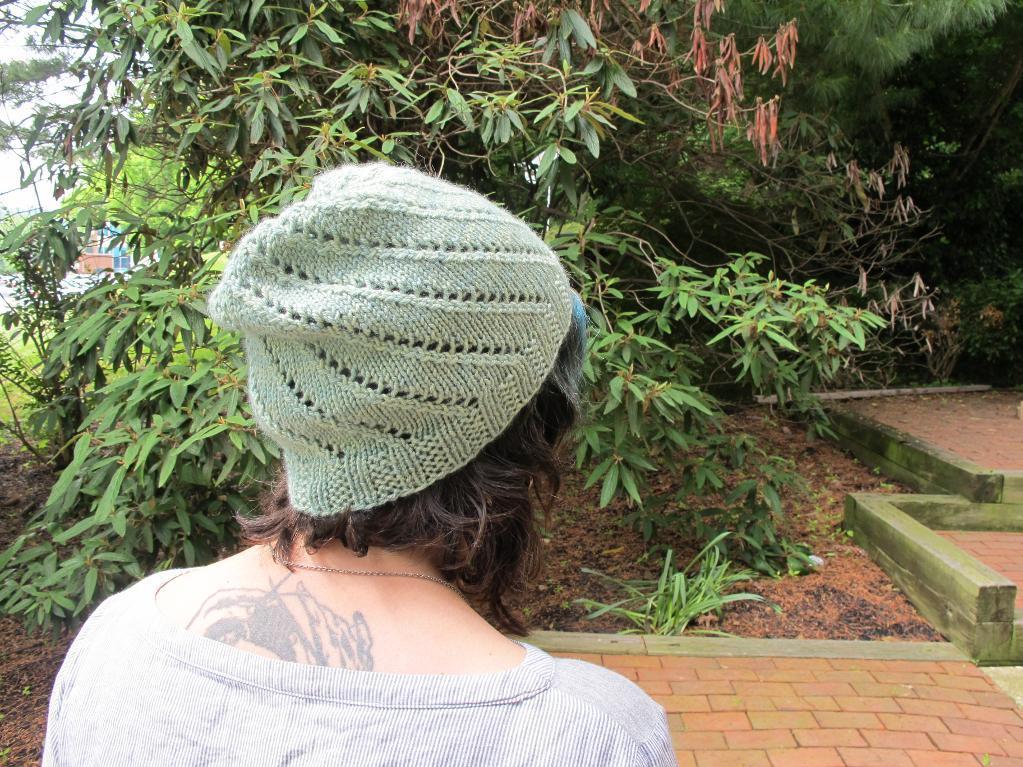 Courtney's Spiral Hat knitting pattern