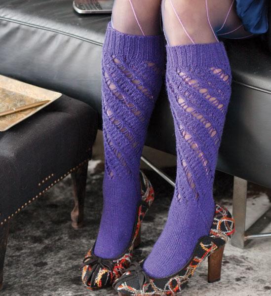 Knee Socks knitting pattern