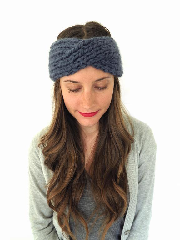 Kahina Headband knitting pattern