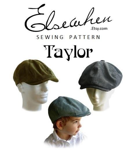Taylor 1920s Newsboys Cap