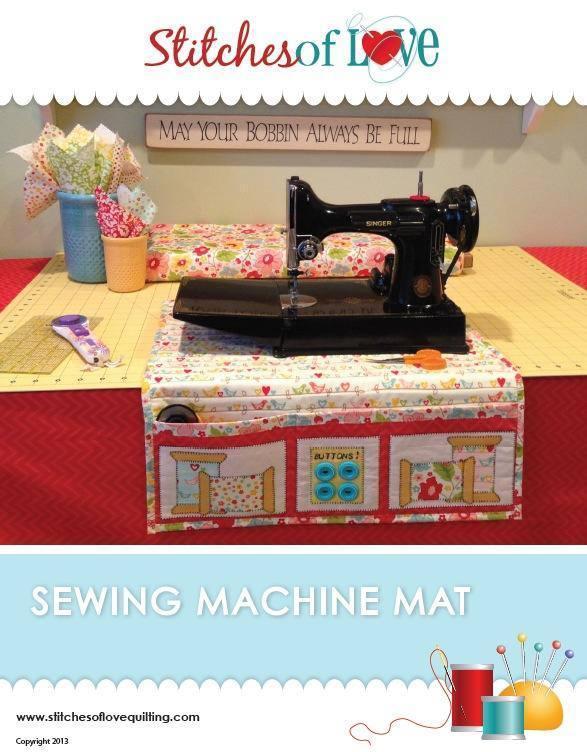 Sewing Machine Mat Pattern