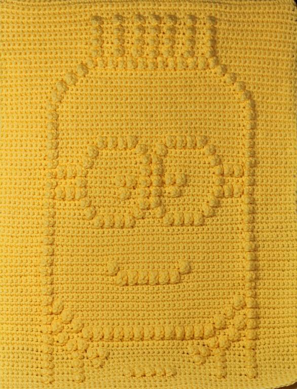 Minion Baby Blanket crochet pattern