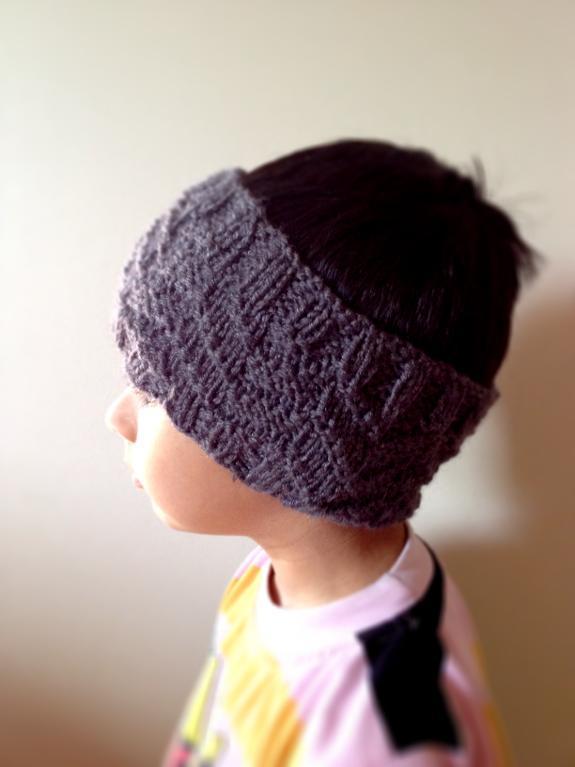 Chutes Reversible Headband and Cowl knitting pattern