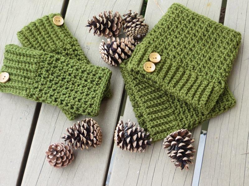 Handwarmer and Bootcuff crochet pattern