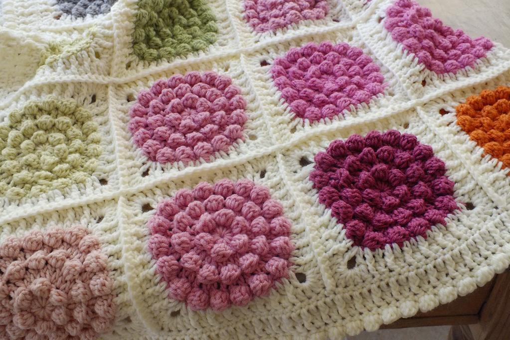 Beautiful Bobble Blanket Crochet Pattern
