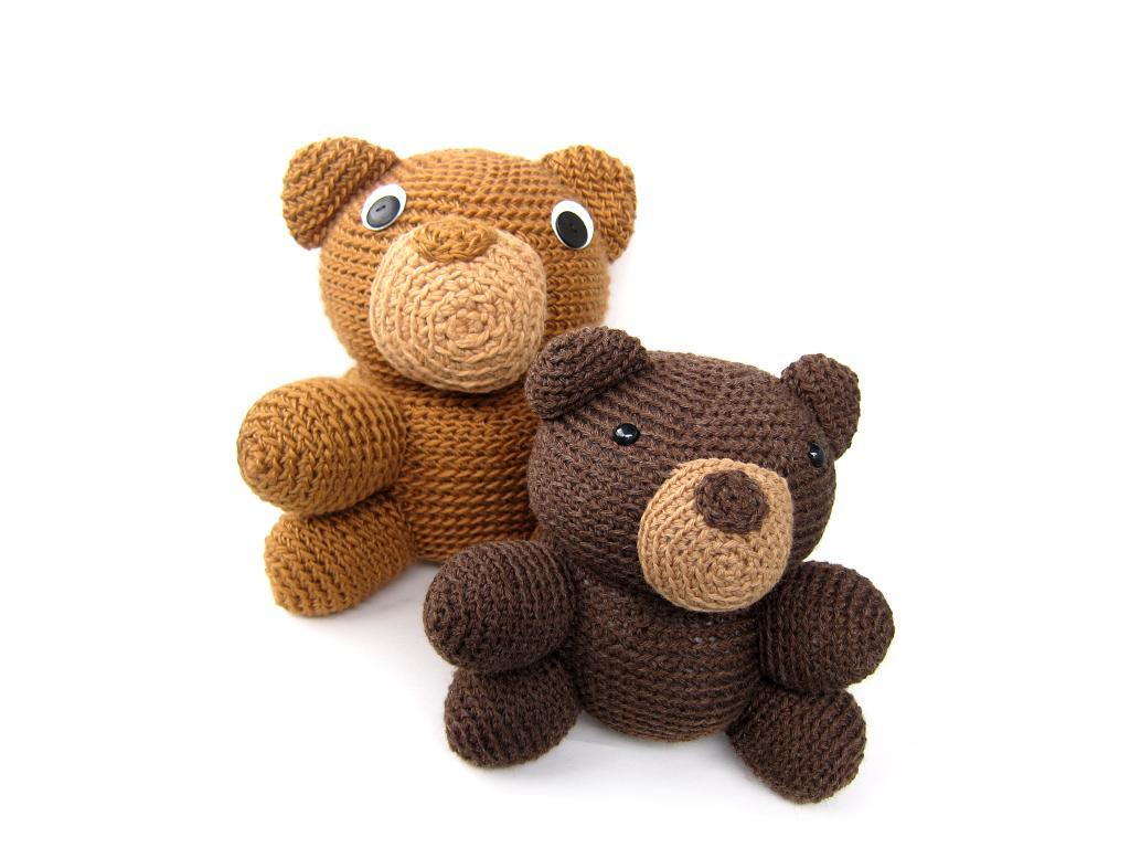 Woodland Bear crochet pattern