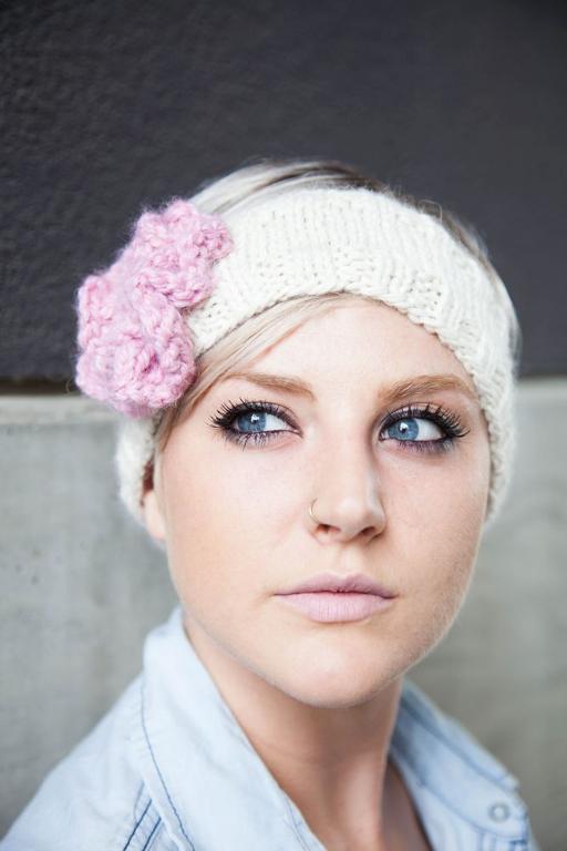 Trendy Headband knitting pattern