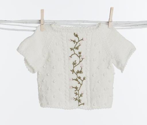 Sweet Rosebuds Sweater