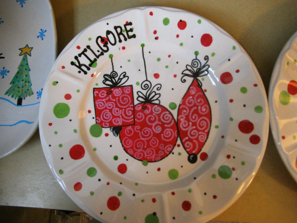Holiday plates