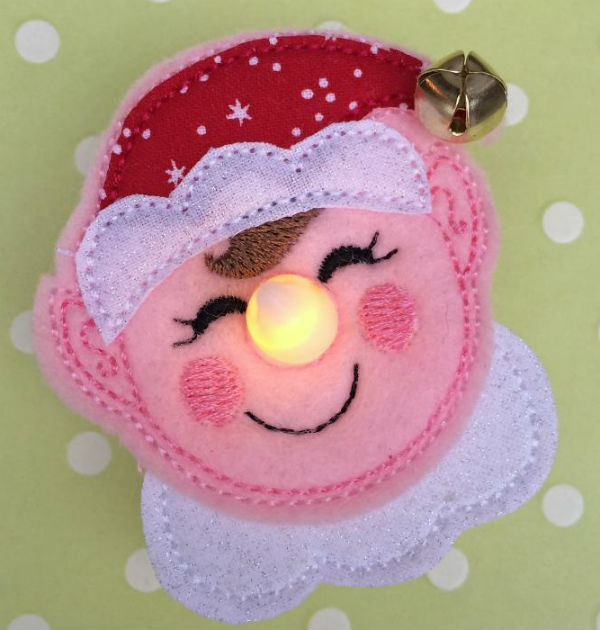 Elf Flameless Tealight Pin