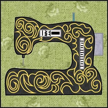 Sewing Machine Embroidery Pattern