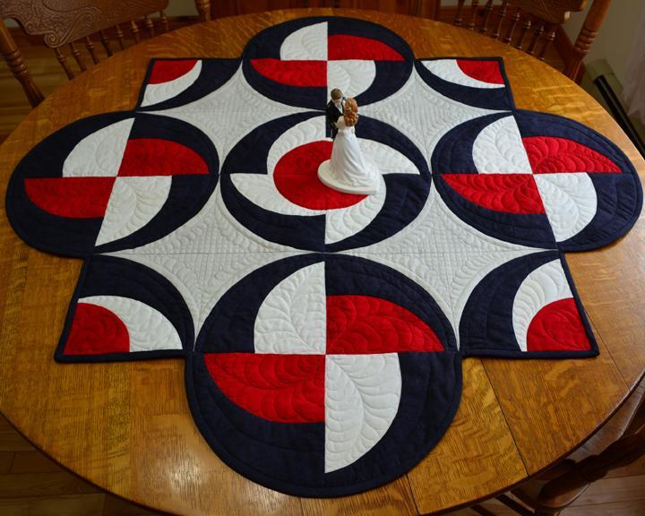 Challenging Circular Table Runner