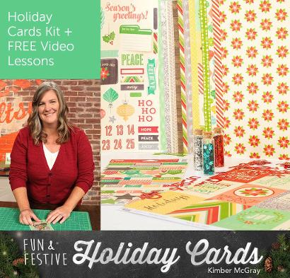 Fun and Festive Holiday Cards Kit