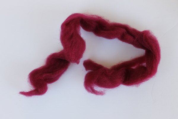 needle felting wool roving
