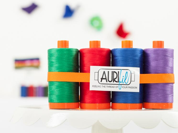 Aurifil Bright and Bold Pack