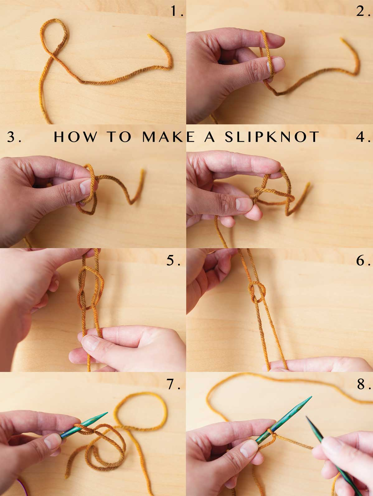 How to make a slipknot