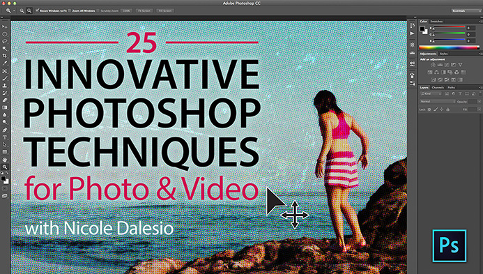 25 Innovative Photoshop Techniques for Photo & Video Class