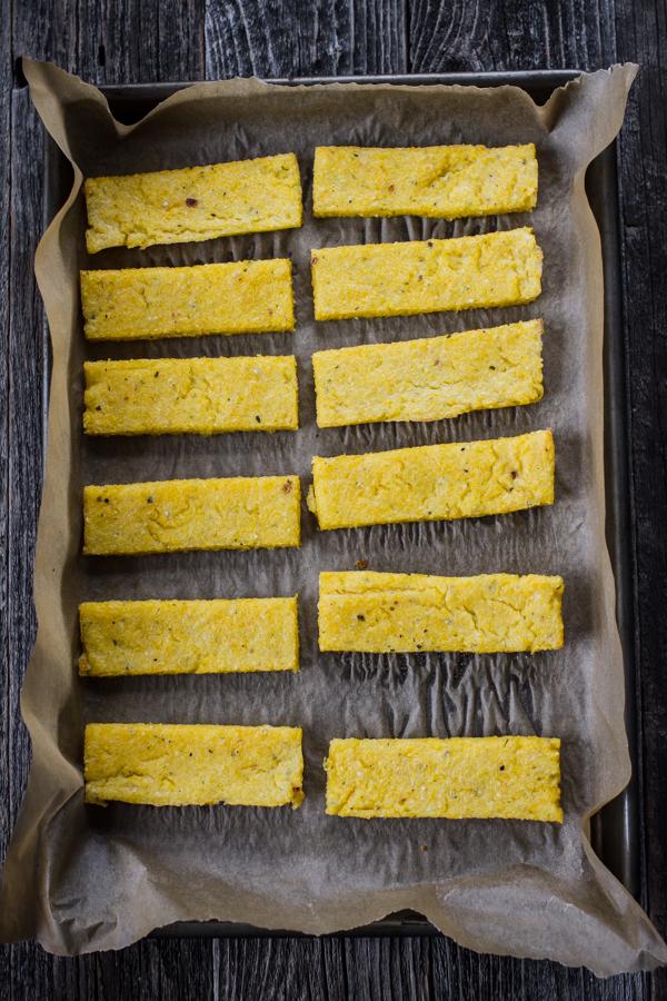 Polenta Breadsticks
