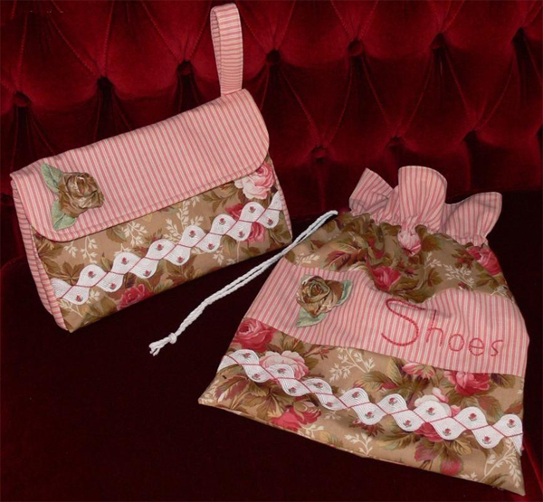 Strewn With Roses by Val Laird Designs on Bluprint
