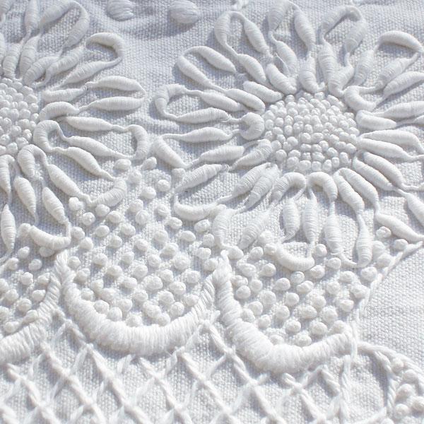 Textured Whitework Embroidery