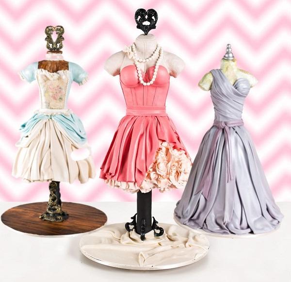 3D Dress cakes