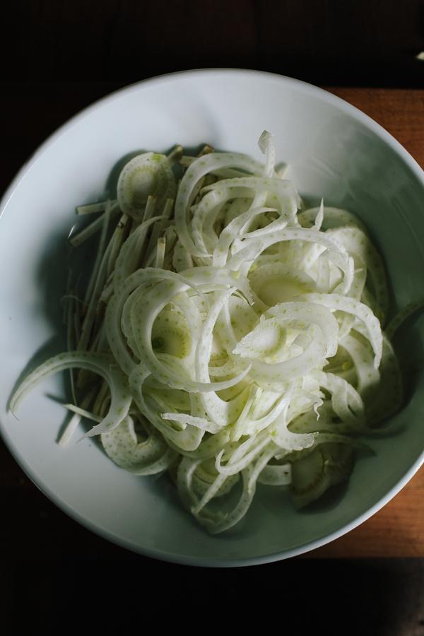 chopped celeriac