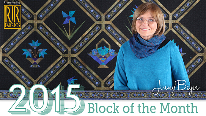 2015 Block of the Month Title Card
