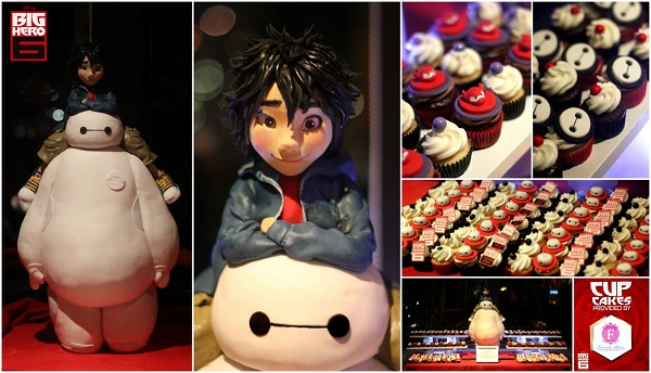Big Hero 6 cakes and cupcakes