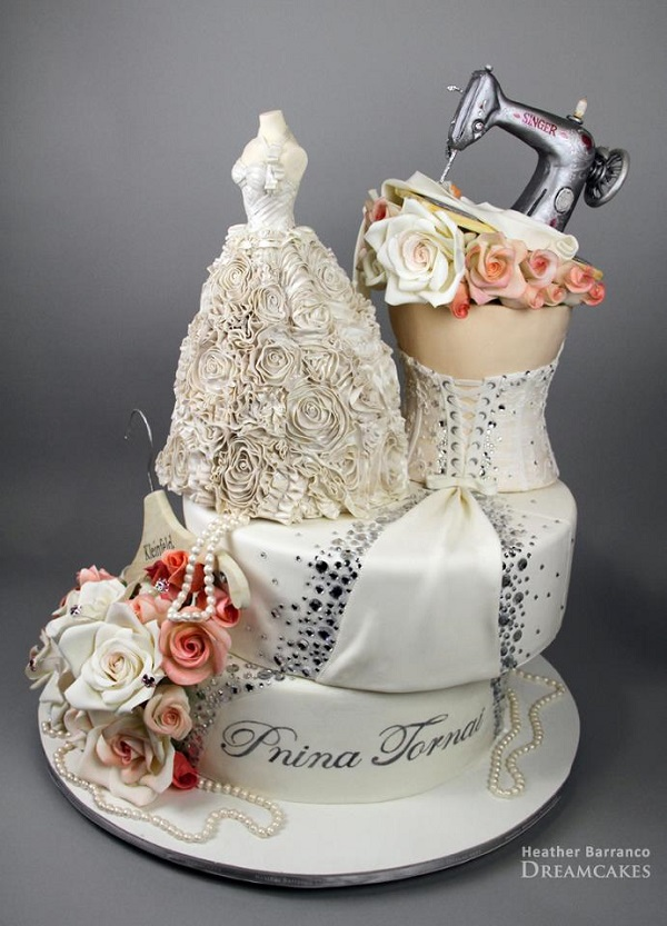 Bridal shop cake