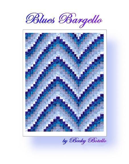blue bargello quilt