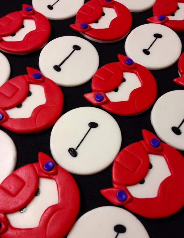 Big Hero 6 fondant cupcake toppers