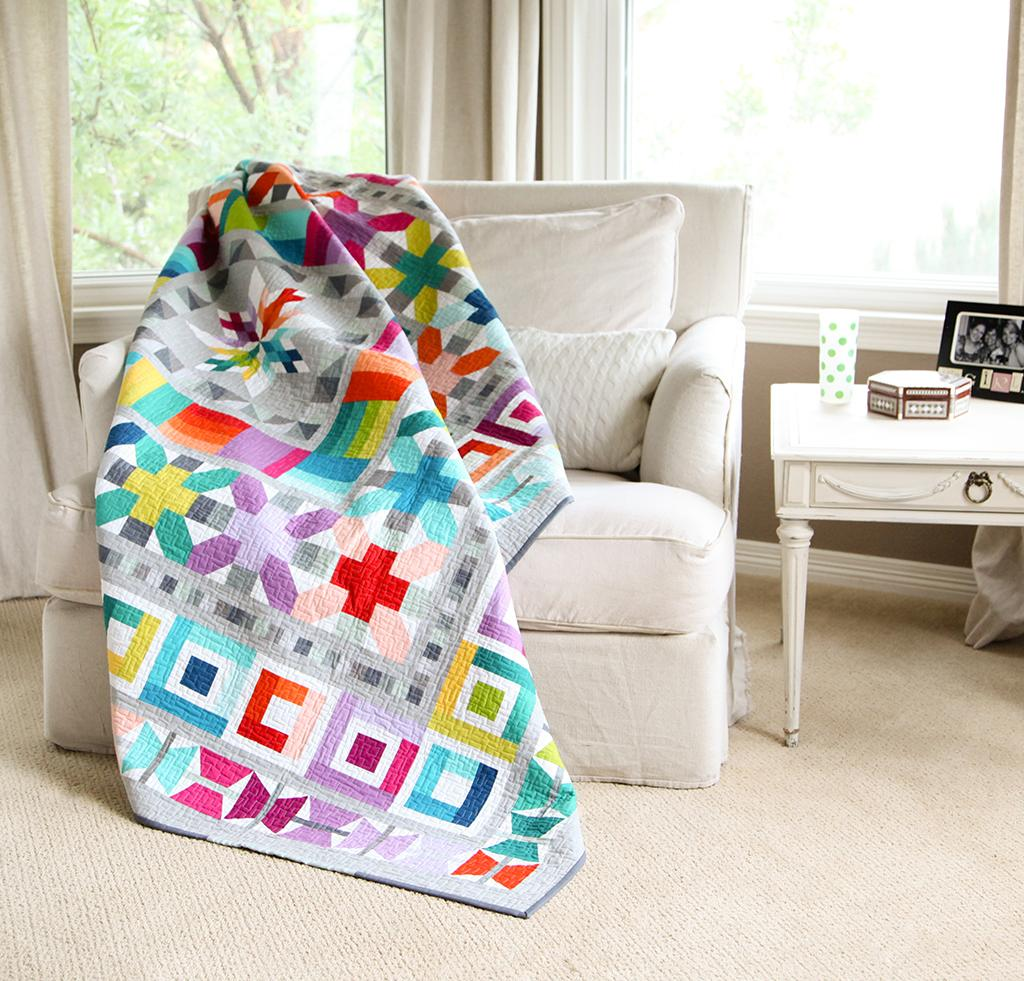 Aviatrix Medallion Quilt Kit