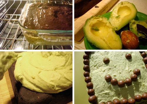 Avocado buttercream